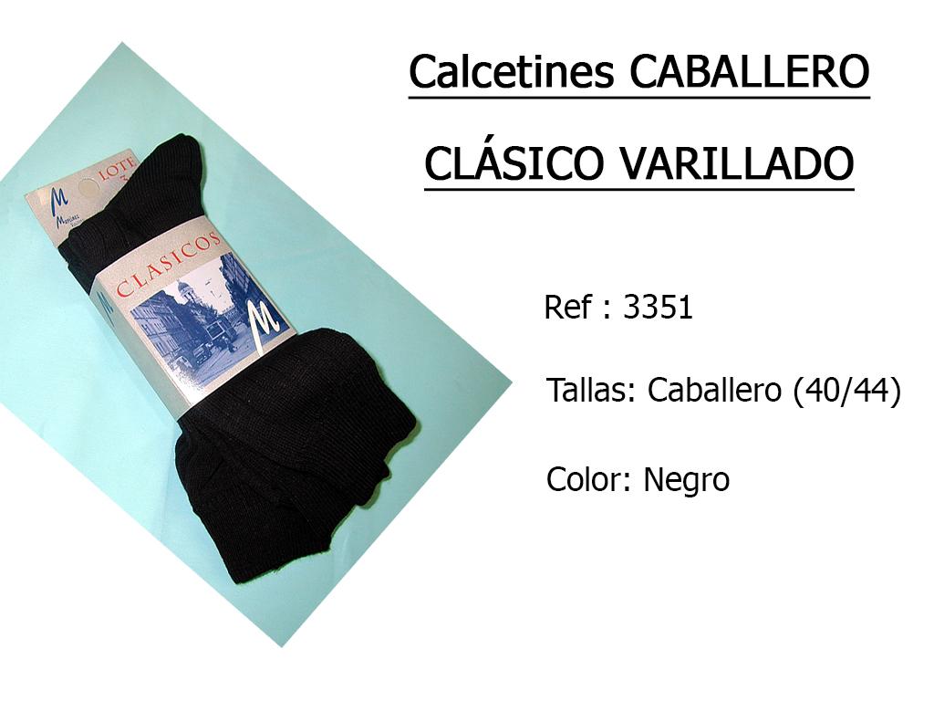 CALCETINES caballero clasico varillado 3351
