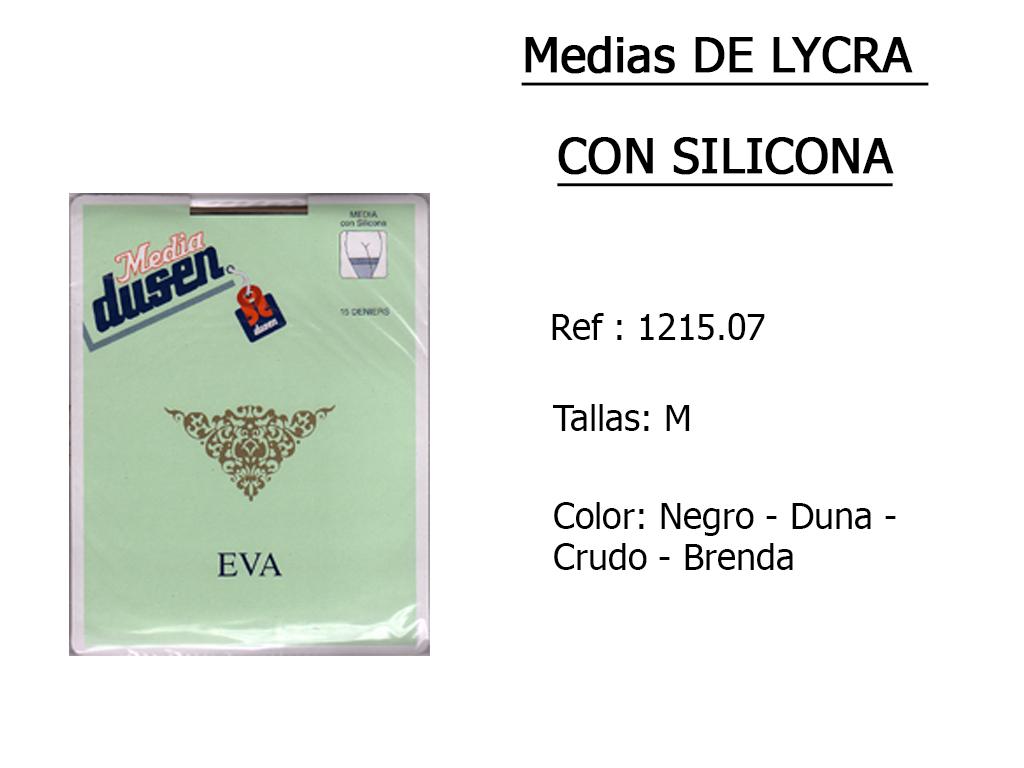 MEDIAS lycra silicona 121507