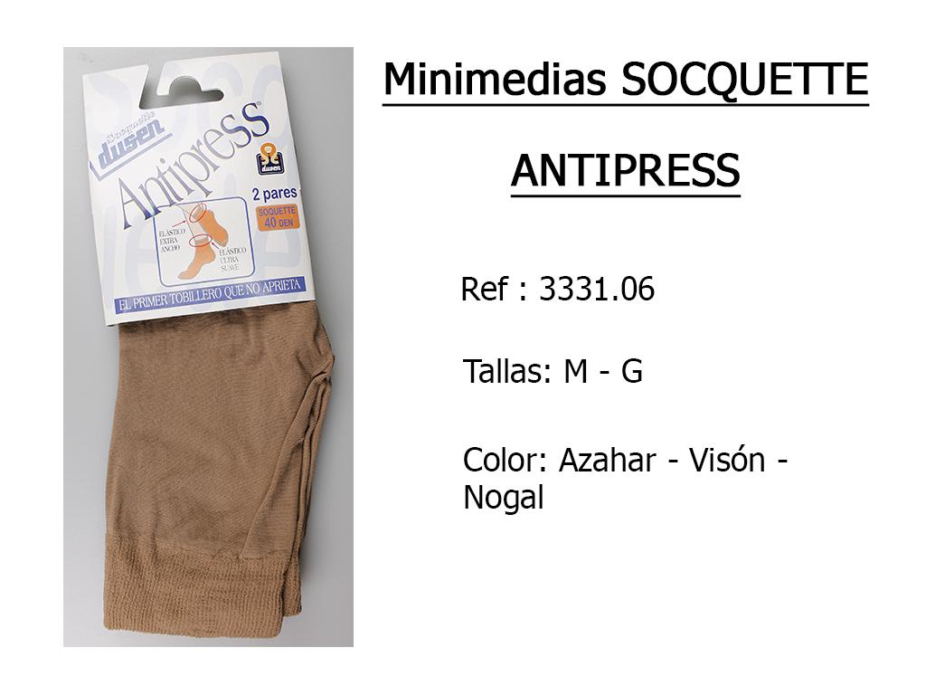 MINIMEDIAS socquette antipress 333106