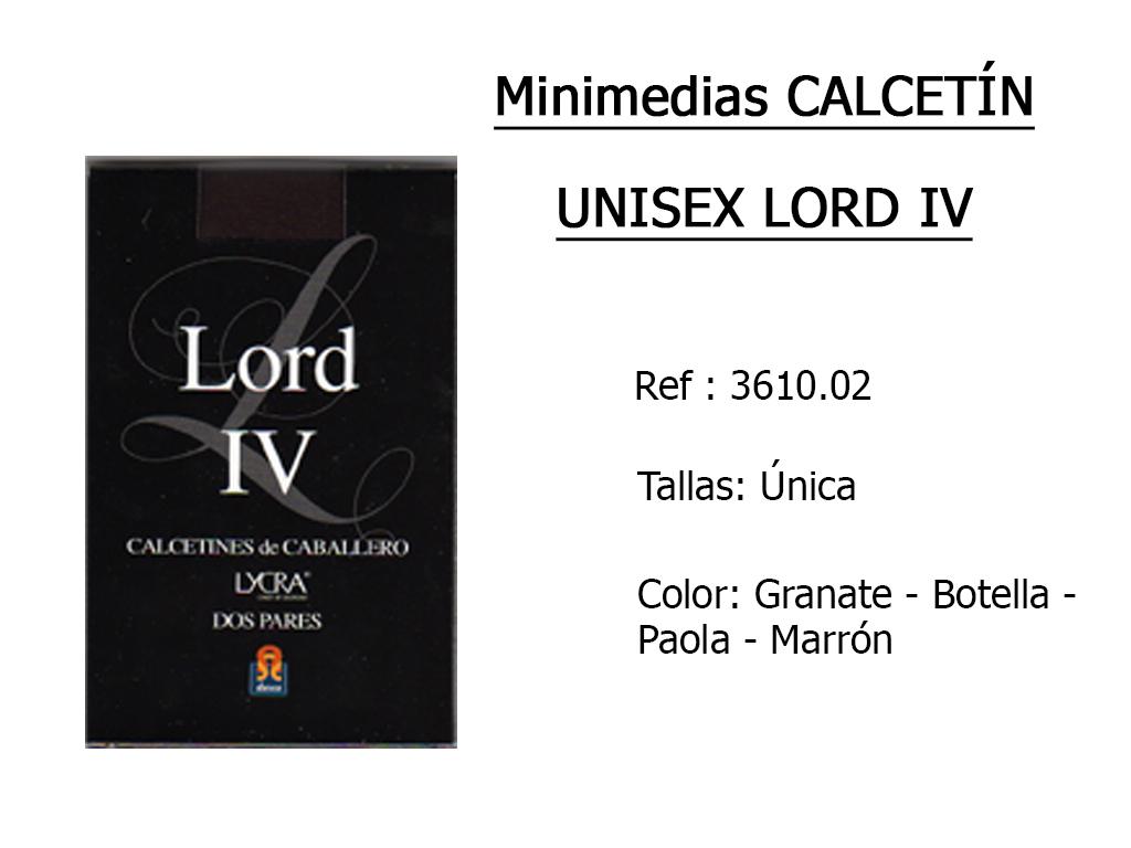 MINIMEDIAS calcetin unisex lord iv 361002