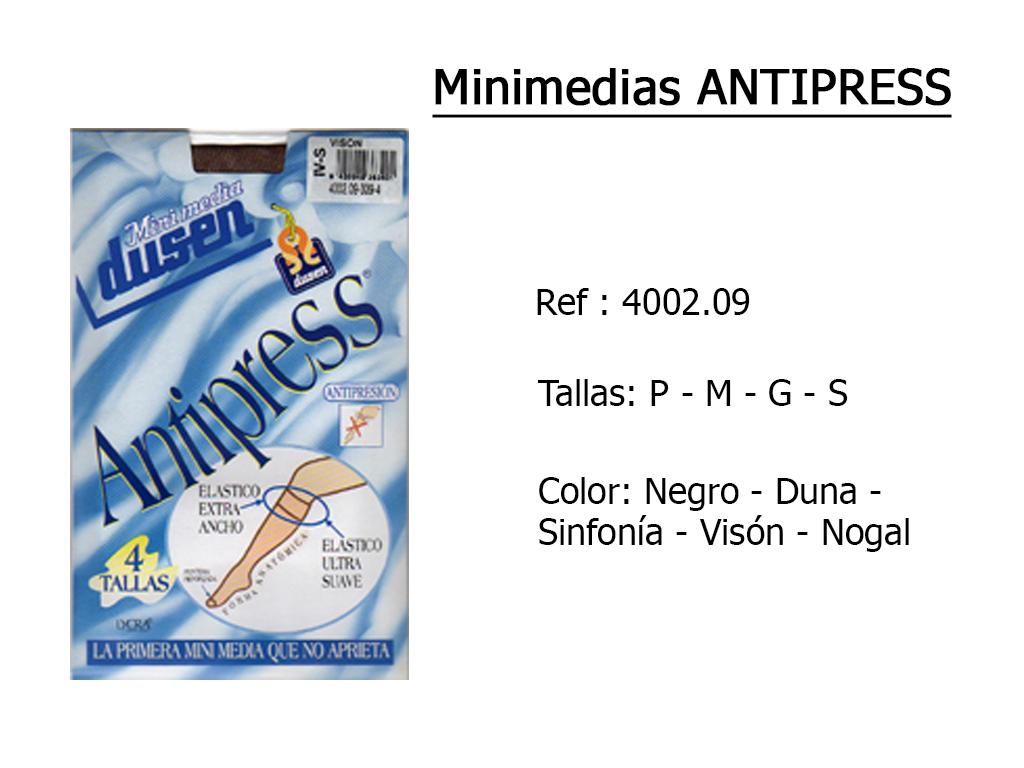 MINIMEDIAS antipress 400209