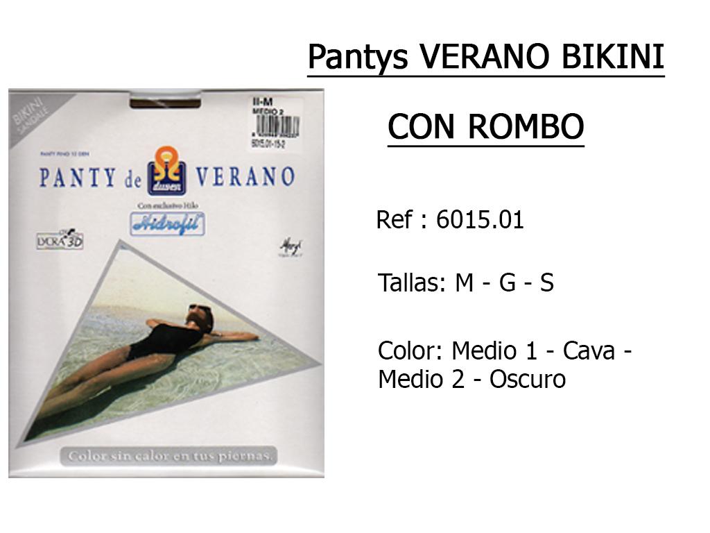 PANTYS verano bikini con rombo 601501
