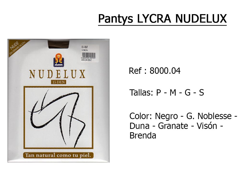 PANTYS lycra nudelux nude 800004