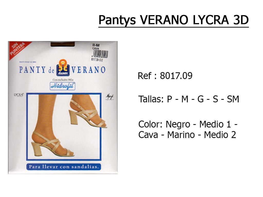 PANTYS verano lycra 3d 801709