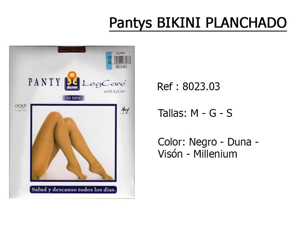 PANTYS bikini planchado 802303