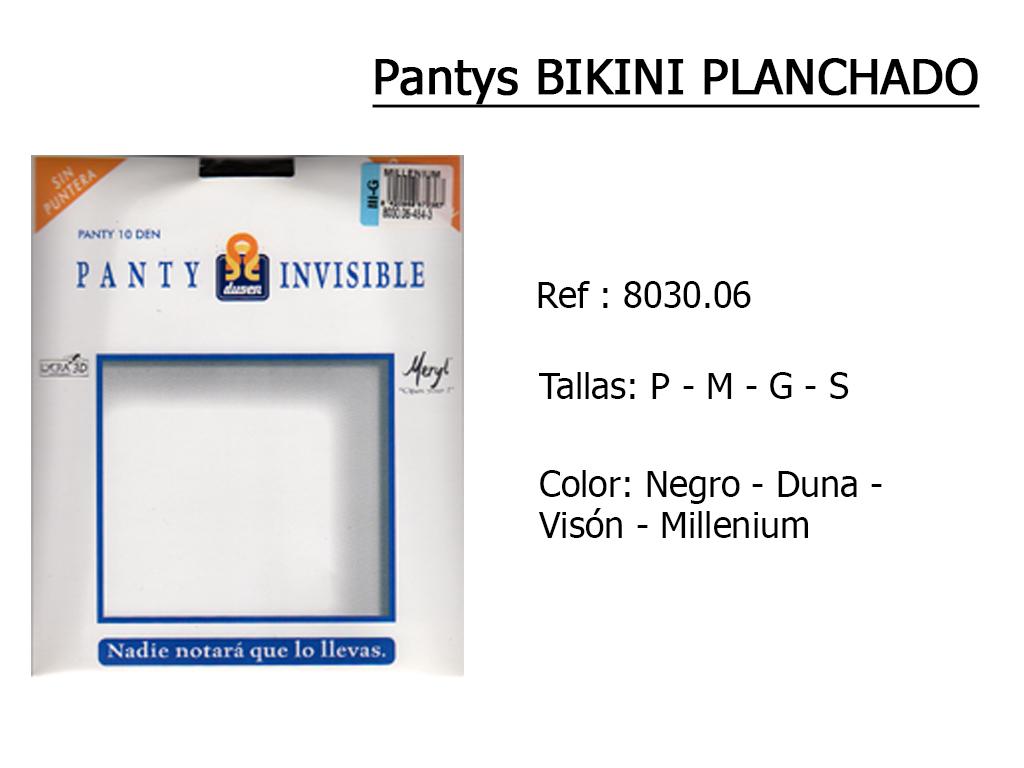 PANTYS bikini planchado 803006