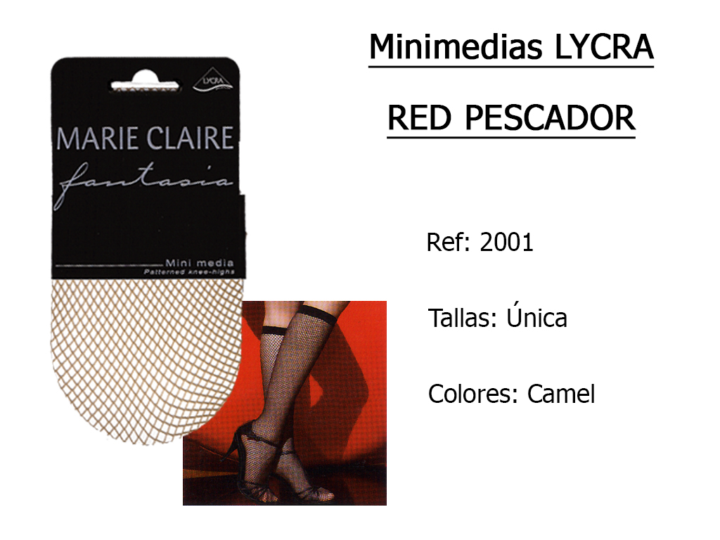 MINIMEDIAS lycra red pescador 2001