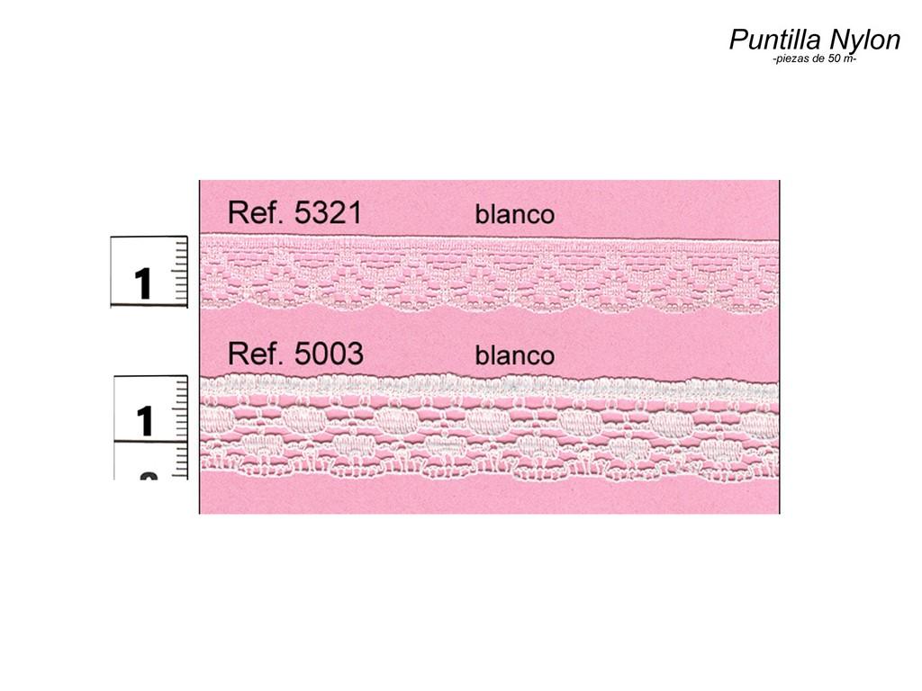 Puntilla nylon 5321 y 5003