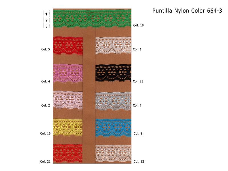 PUNTILLA NYLON 664-3