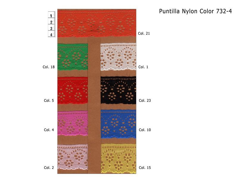 PUNTILLA NYLON 732-4