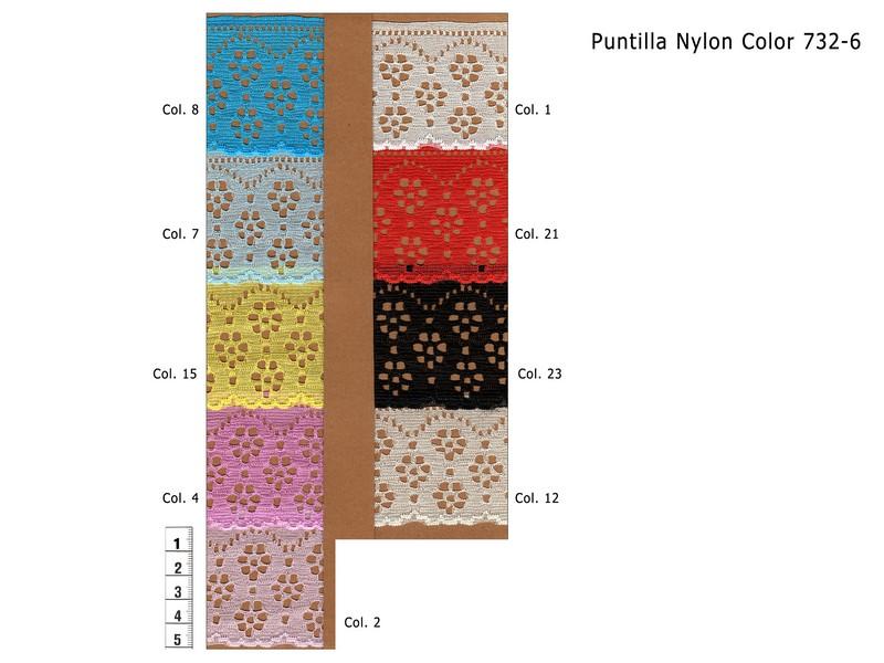 PUNTILLA NYLON 732-6