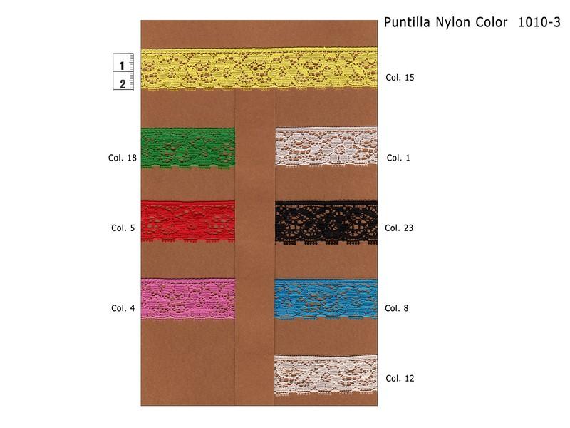 PUNTILLA NYLON LISA 1010-3