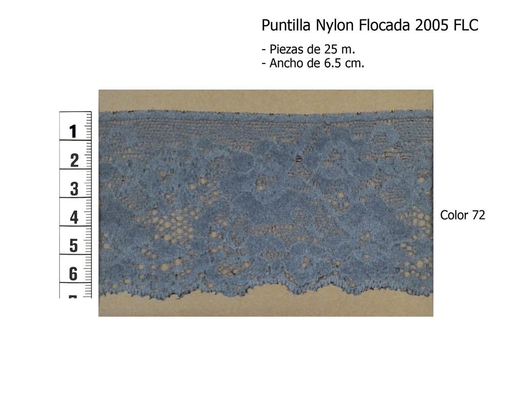 Puntilla nylon flocada 2005 FLC