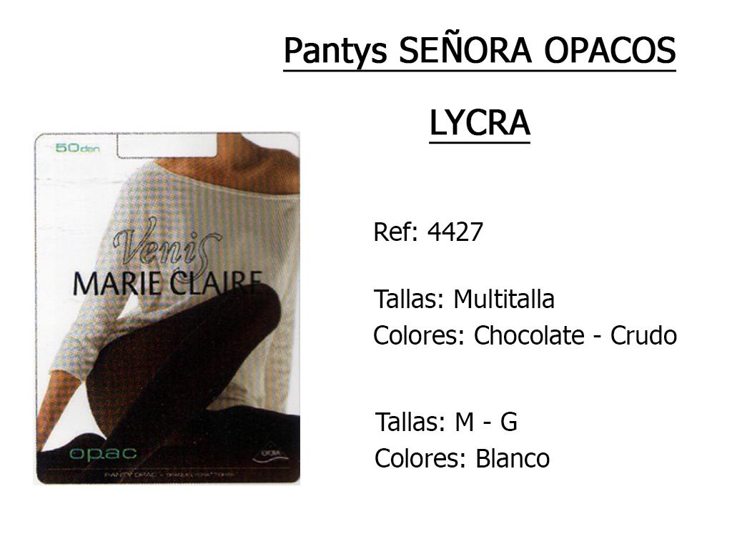 PANTYS senora opacos lycra 4427