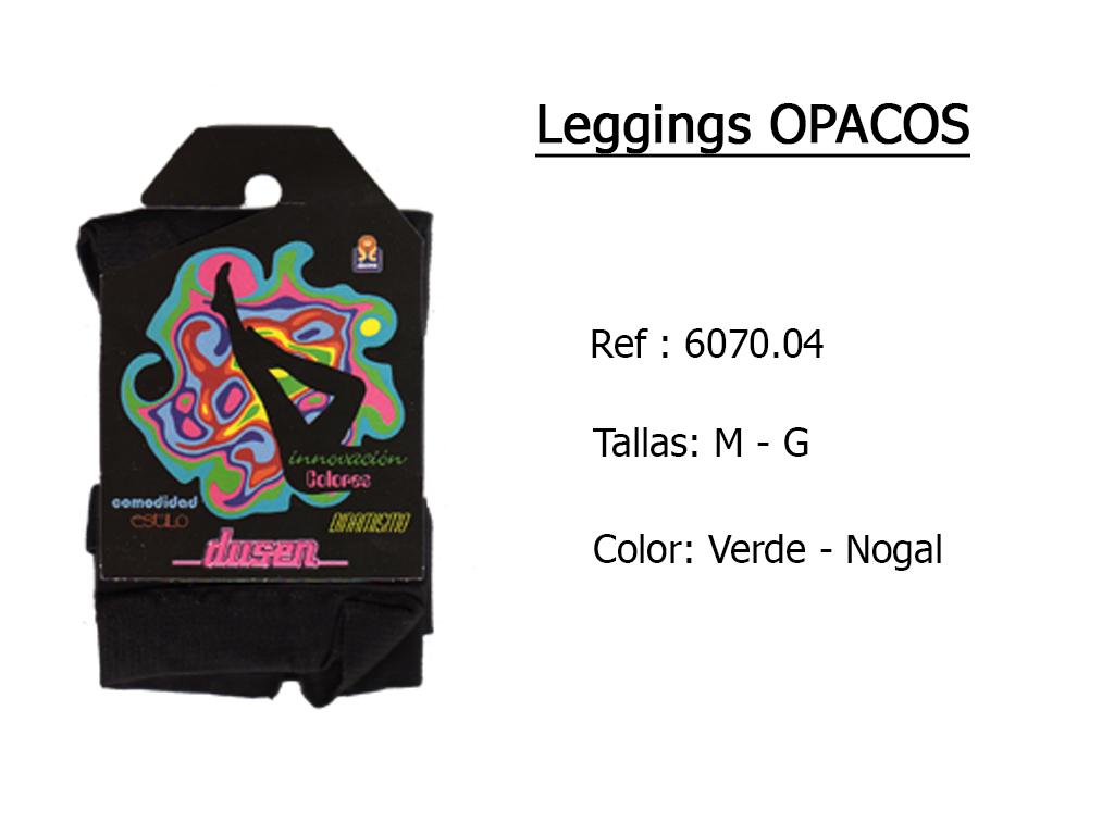 LEGGINGS opacos 607004