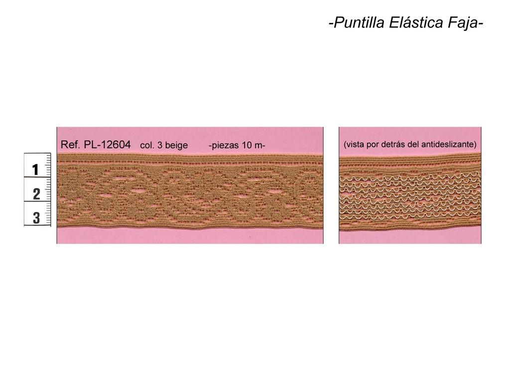 Puntilla elástica faja PL-12604