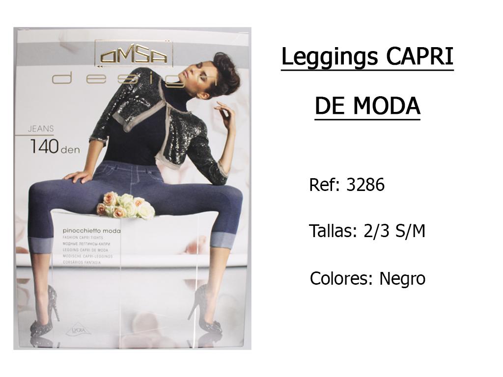 LEGGINGS capri de moda 3286