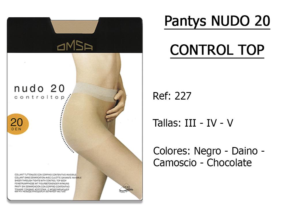 PANTYS nudo 20 control top 227