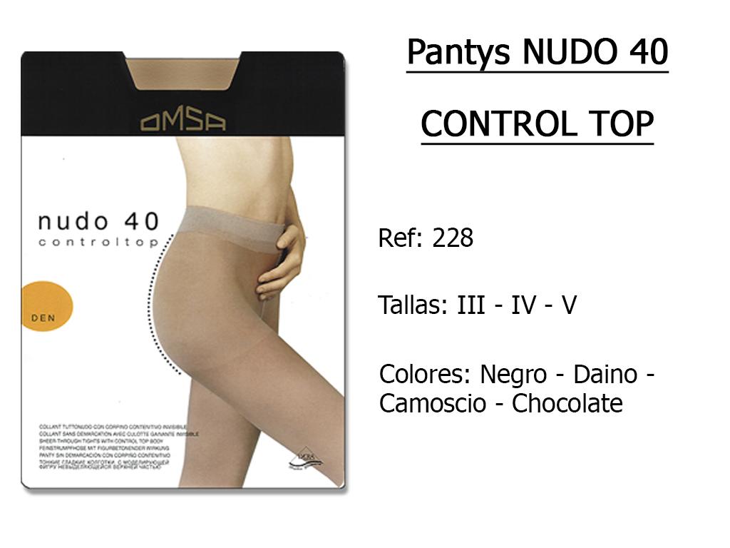 PANTYS nudo 40 control top 228
