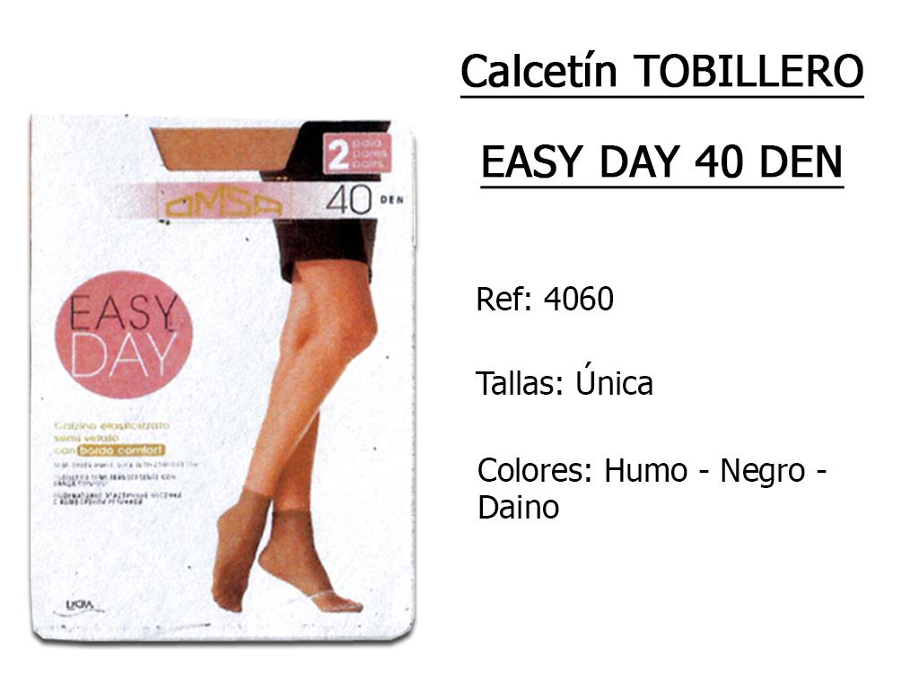 CALCETINES tobilleros easy day 40 den 4060