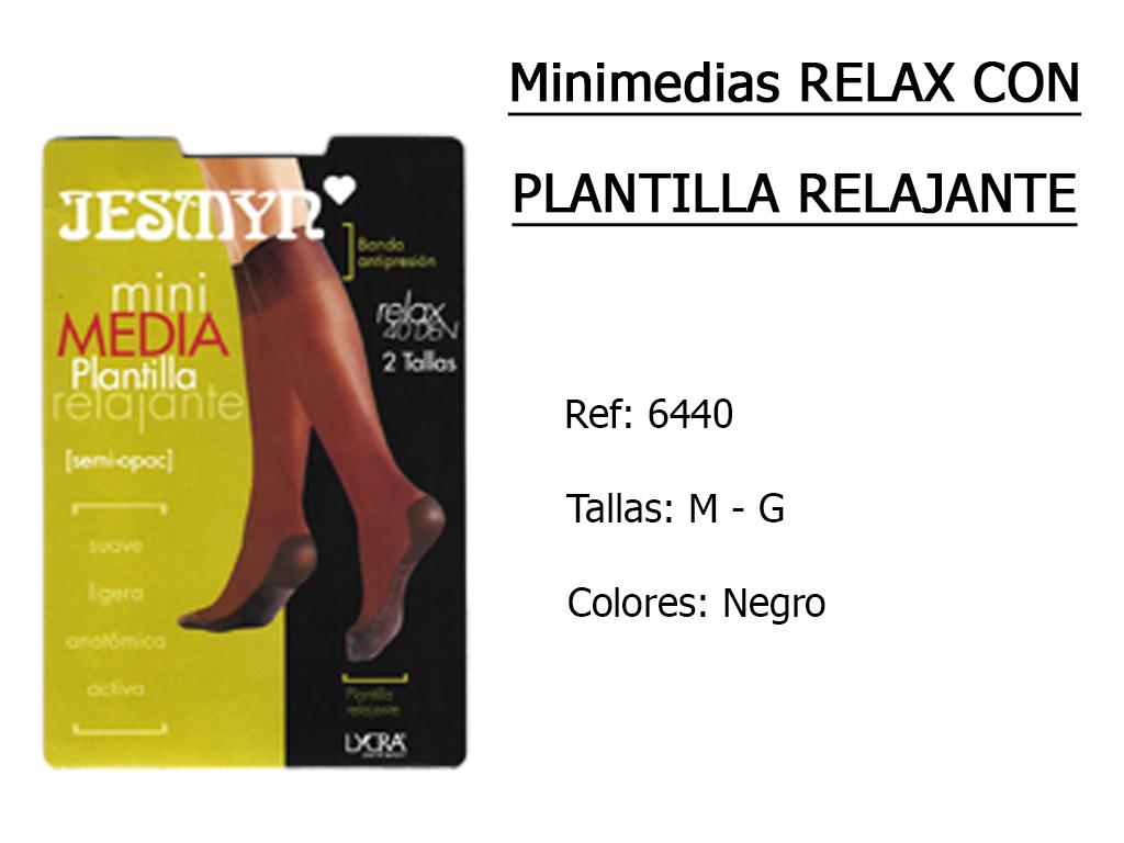 MINIMEDIAS relax con plantilla relajante 6440