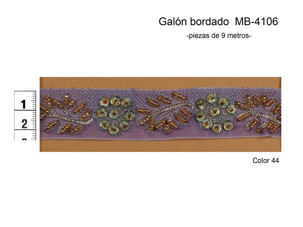 GALÓN BORDADO MB-4106