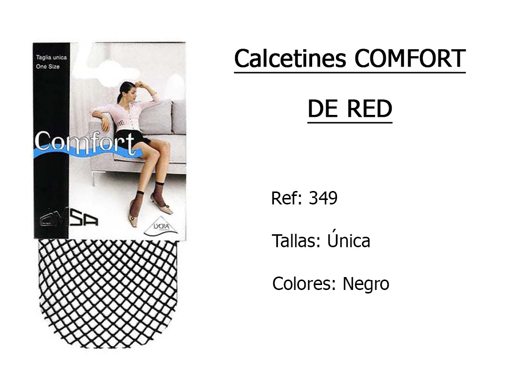 CALCETINES comfort de red 349