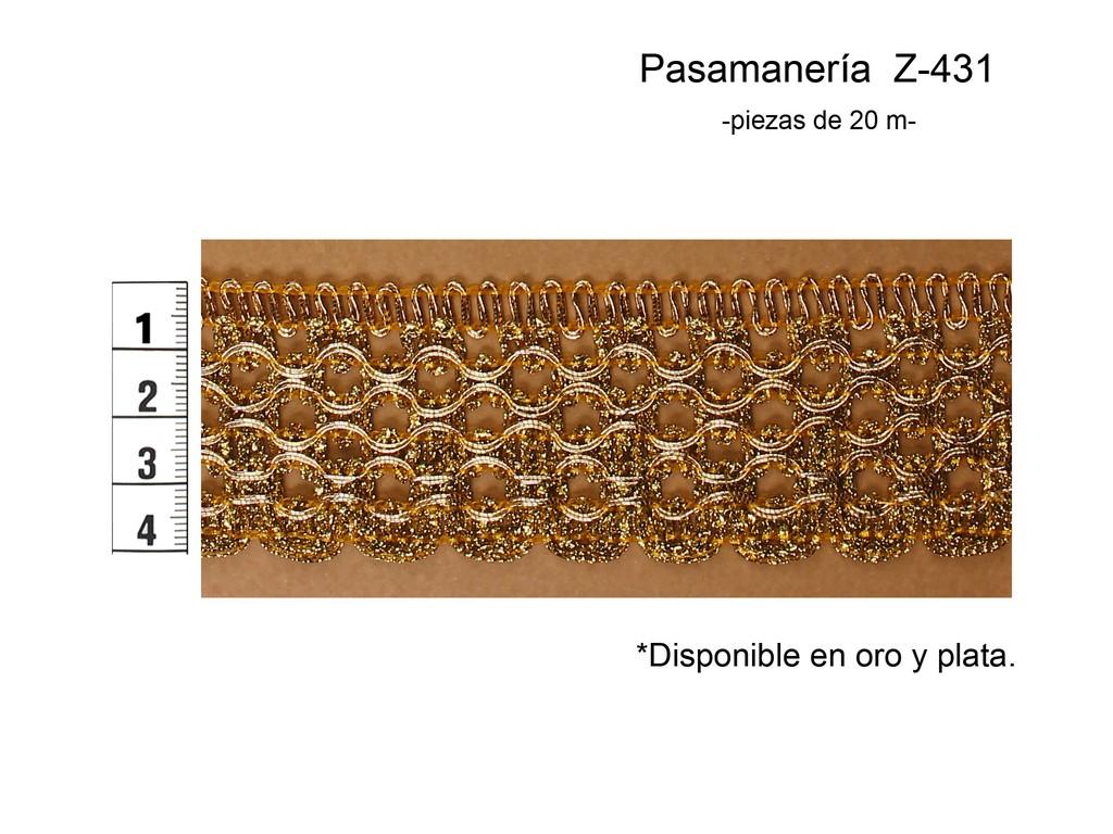 PASAMANERÍA Z-431