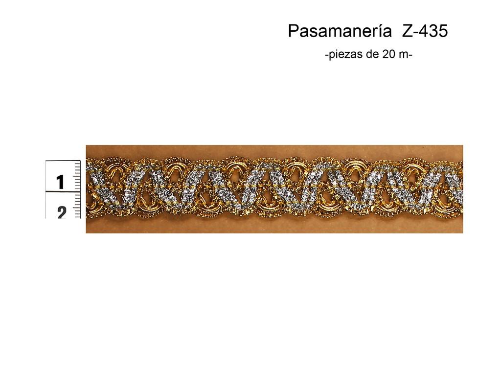 PASAMANERÍA Z-435