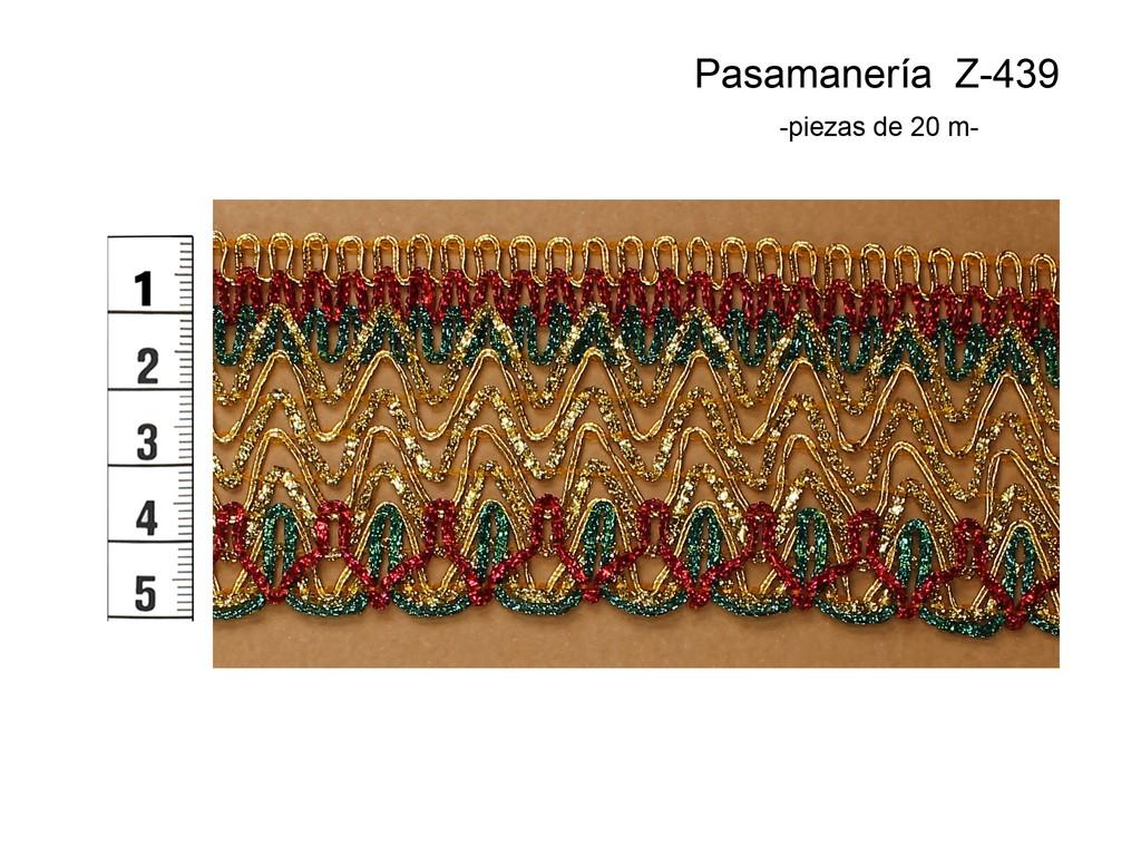 PASAMANERÍA Z-439