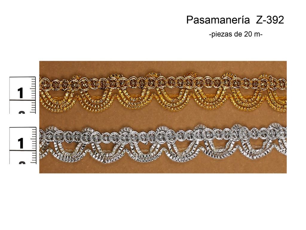 PASAMANERÍA Z-392