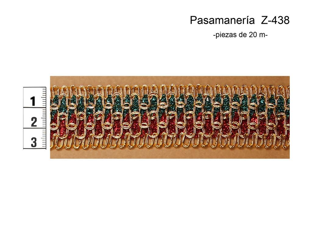 PASAMANERÍA Z-438