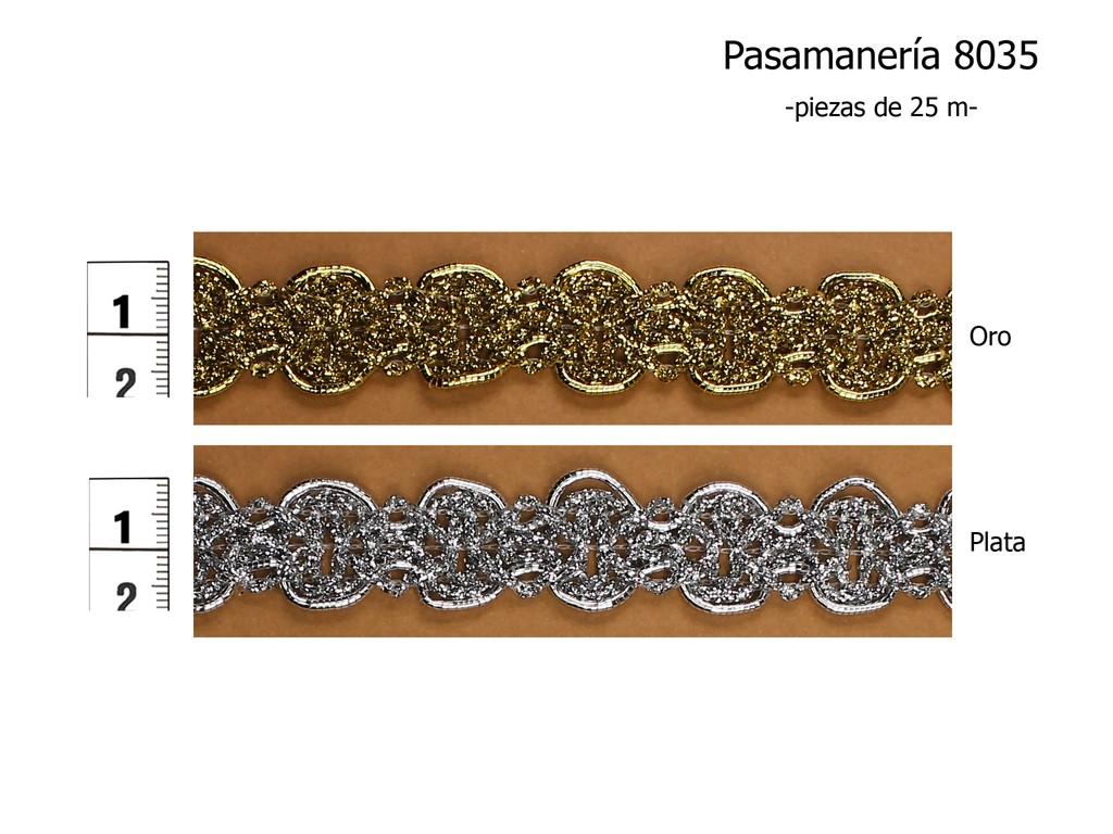 PASAMANERÍA 8035