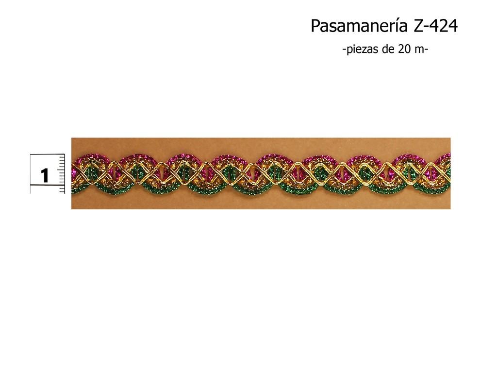 PASAMANERÍA Z-424