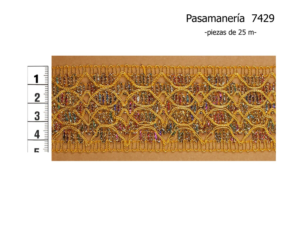 PASAMANERÍA 7429