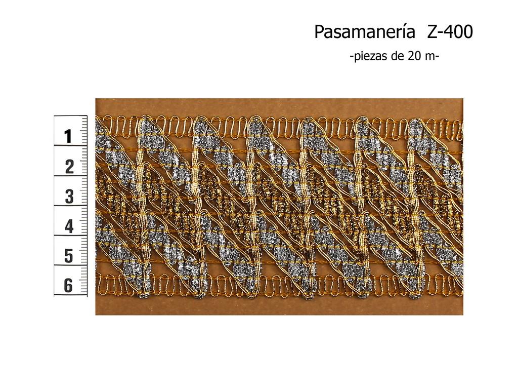 PASAMANERÍA Z-400