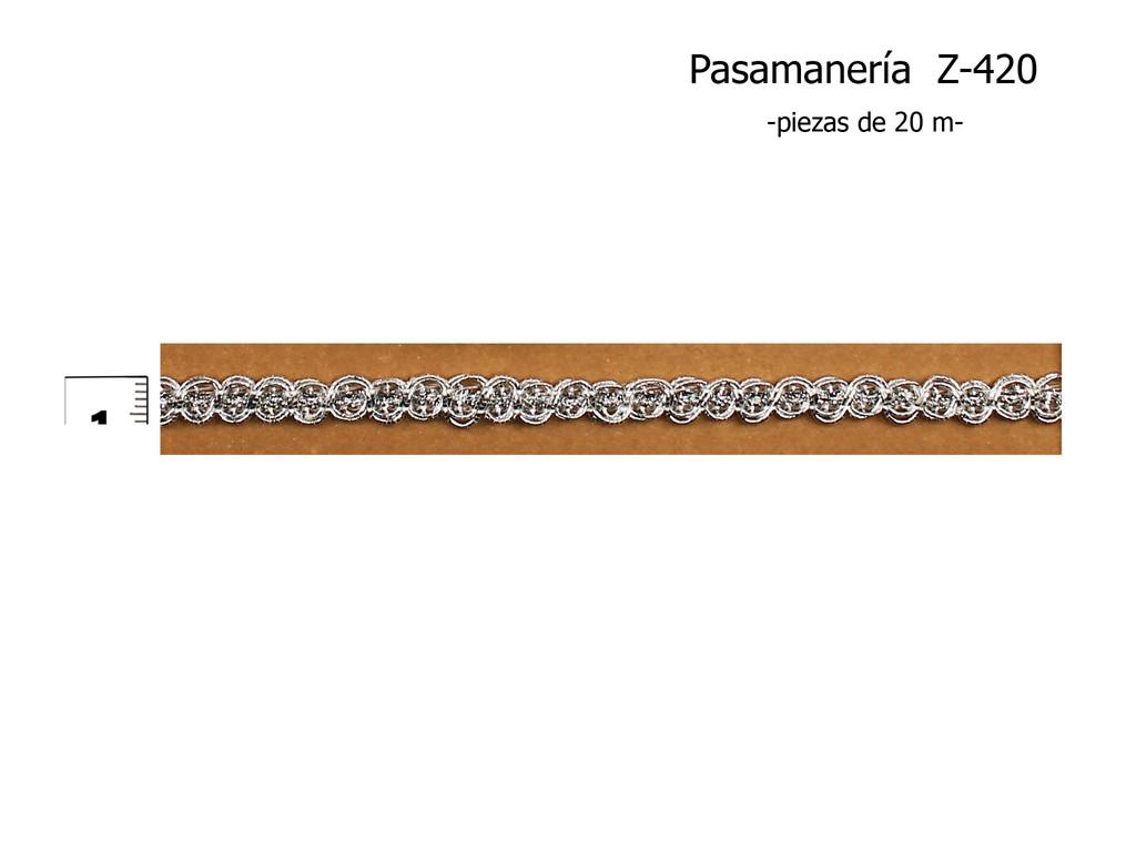 PASAMANERÍA Z-420