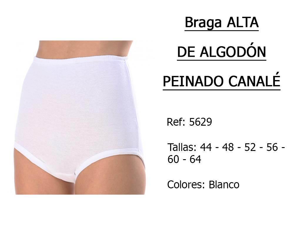 BRAGA alta de algodon peinado canale 5629