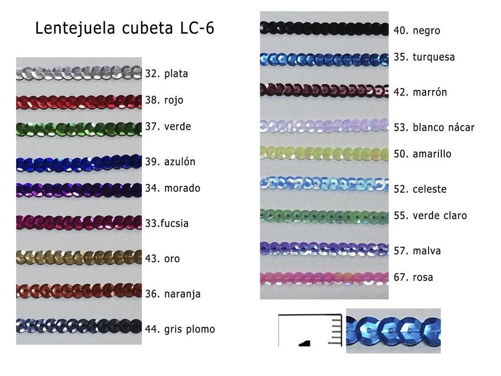 LENTEJUELA CUBETA LC-6