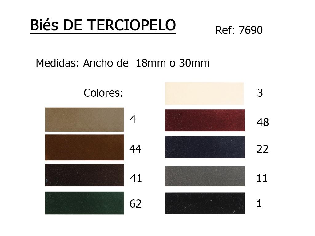 BIES 7690 TERCIOPELO