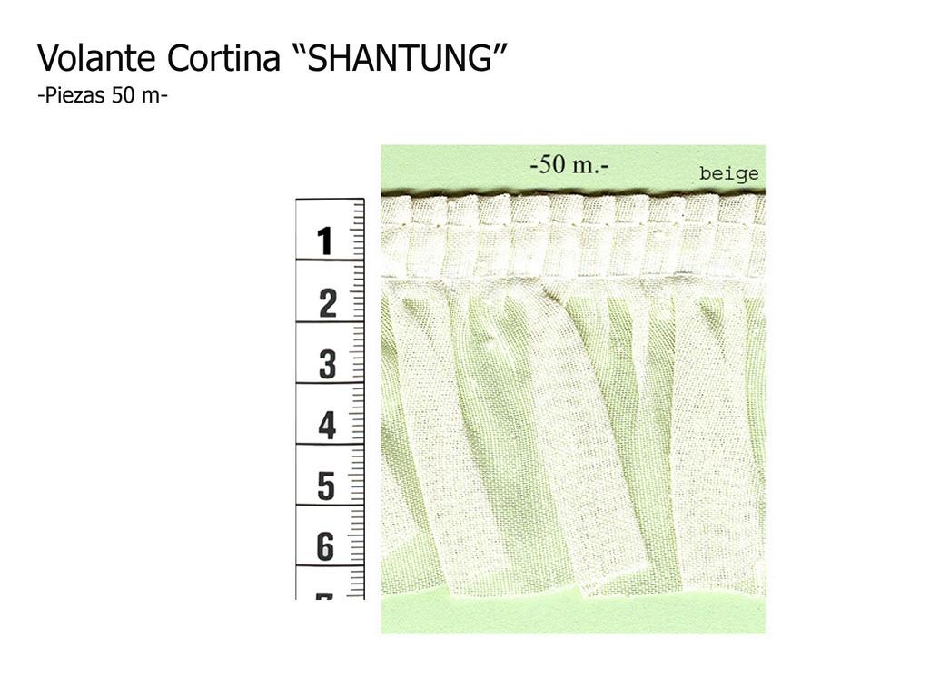 Volante cortina SHANTUNG