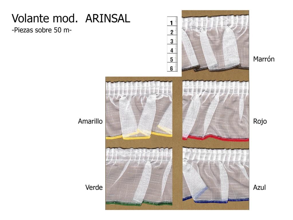 Volante modelo ARINSAL