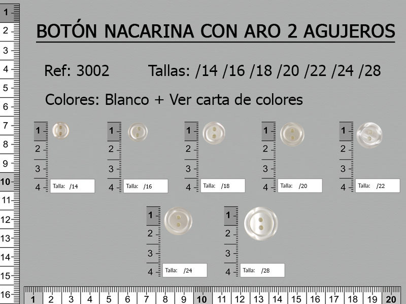 BOTONES NACARINA 3002
