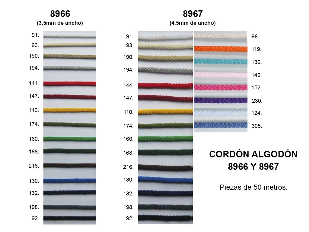 CORDON ALGODON 8966 Y 8967