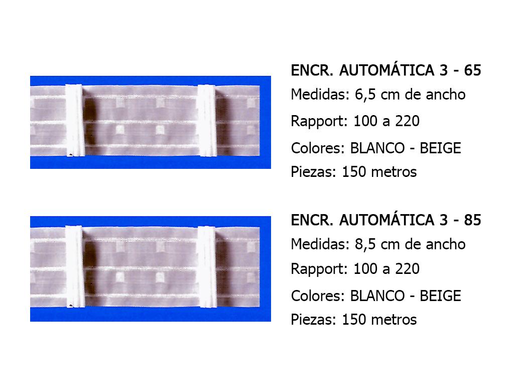 CINTA DE CORTINA ENCRESTADORA (GRUPOS)