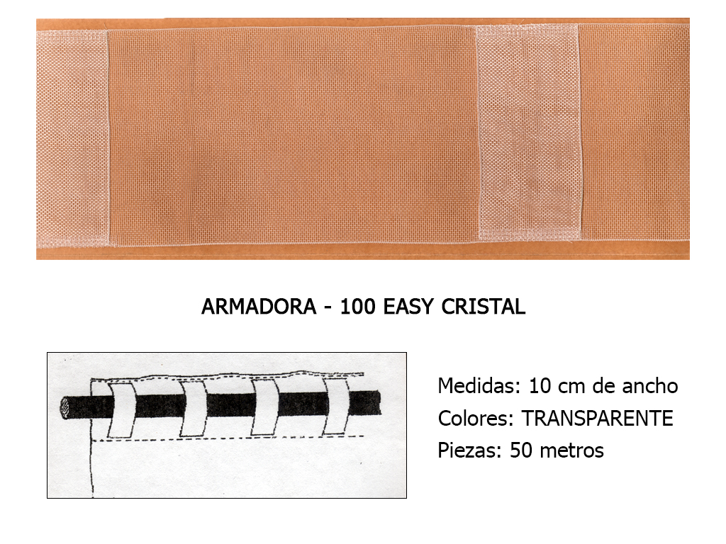 CINTA DE CORTINA ARMADORA EASY