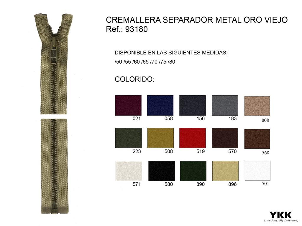 Cremallera 93180