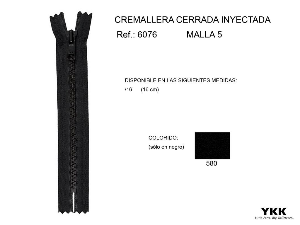 Cremallera 6076