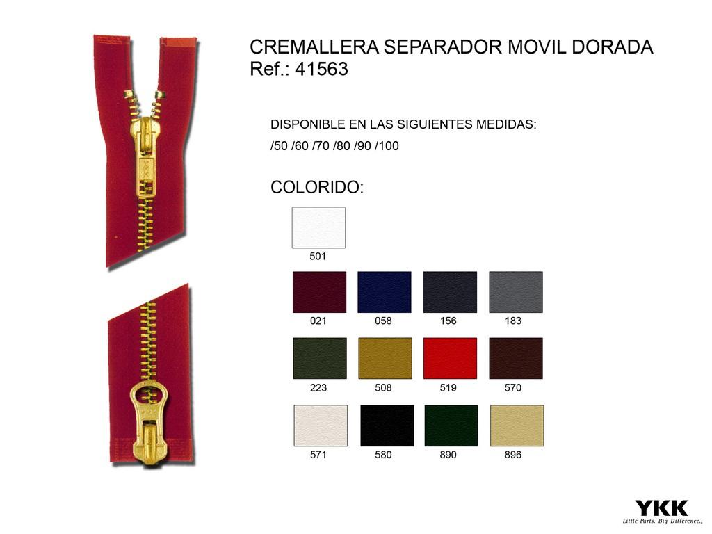 Cremallera 41563