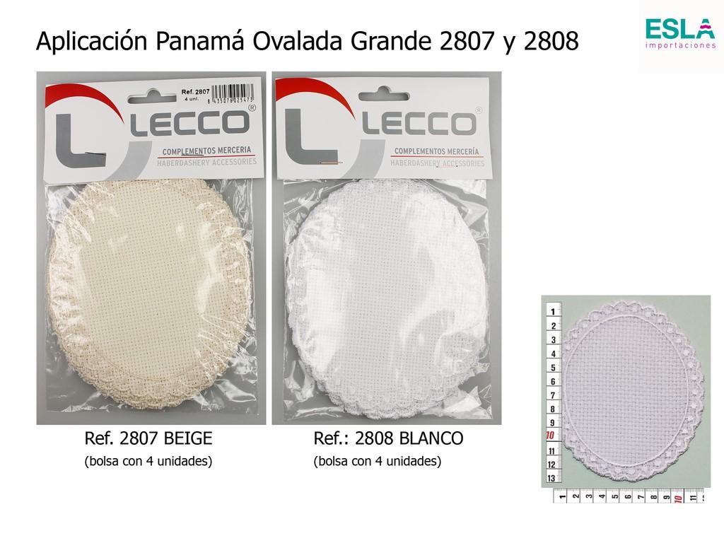 Aplicación Panamá Ovalada Grande 2807 y 28018